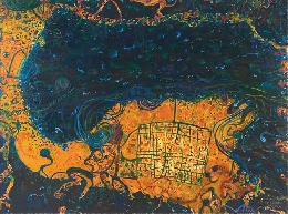 BONHAMS & GOODMAN ART AUCTION TO SHOWCASE ICONIC JOHN OLSEN PAINTING DISCOVERED IN ADELAIDE