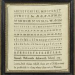 A Collection of Quaker Samplers and Ephemera