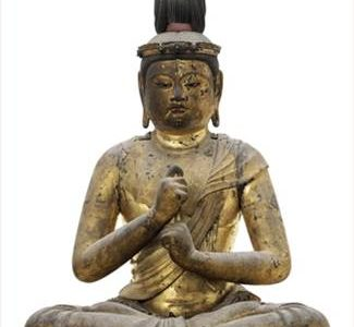 Dainichi Nyorai Sculpture Of A Buddha Realizes $14,377,000 And Establishes New World Auction Records At Christie's