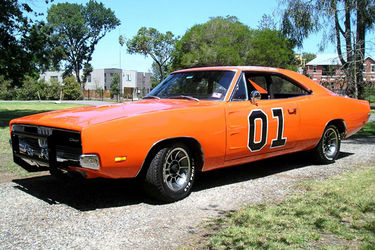 General Lee Charger for Shannons Motor Show auction