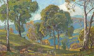 William Wendt's 'View to the Valley' to Highlight April Sale of California & American Paintings at Bonhams & Butterfields