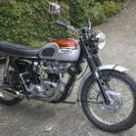 Triumph Bonneville at Shannons Motorcycle Auction