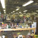 AN 80,000-SQUARE-FOOT BUILDING IN McRAE, GEORGIA, HOUSING A FLEA MARKET-ANTIQUE MALL, TO BE SOLD AT AUCTION JULY 24th