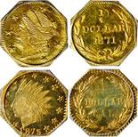 Teletrade to Auction California Fractional Gold Coins