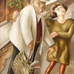 Sir Stanley Spencer Easel And Painting To Sell At Bonhams