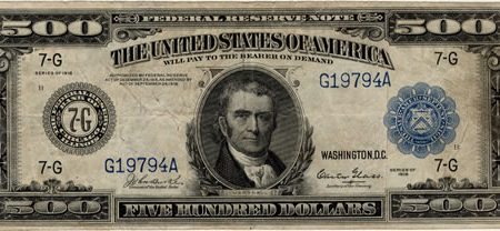 Federal Reserve Note Sells for $16,100 at Leonard Auction