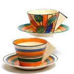 Clarice Cliff Teacup Collection for Bonhams Auction