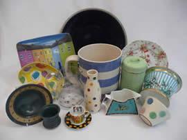 Tennants Modern China Kitchenware and Glassware