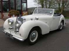 'Bergerac' Triumph Car For Charterhouse Auction