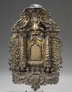 Rare Ark Form Hanukkah Lamp Sells for $314,000 in Skinner's Fine Judaica Auction