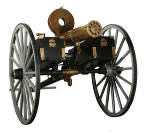 OVER 500 LOTS OF CIVIL WAR ITEMS, FIREARMS AND MILITARIA – INCLUDING TWO GATLING GUNS AND SEVERAL CANNONS – WILL BE SOLD BY FONTAINE'S AUG. 15th