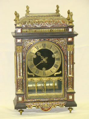 Boulle mantle clock