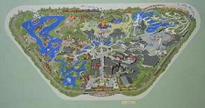 Sam McKim Disneyland Map Art at PWAuctions