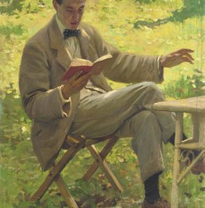 Christie's to Auction Early Portrait of Sir Alfred James Munnings