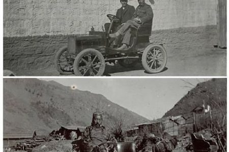 Images of First Cars to Cross the Himalayas into Tibet and Secret Photos of Japan from 1898 for Auction at Bonhams