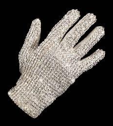 Michael Jackson White Glove For Auction in Australia
