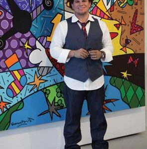 André Agassi Foundation Unveils Artwork by Noted Contemporary Artist Romero Britto to be Auctioned