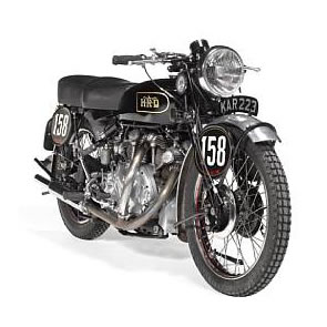 Collectors Motorcycles and Memorabilia for Auction at The Classic Motorcycle Mechanics Show