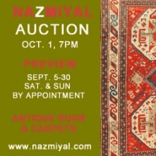 Nazmiyal To Hold Second Antique Rug Auction