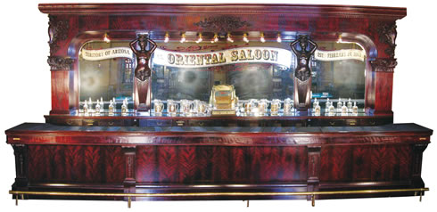 Front and back bar