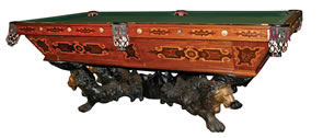 Liquidation of 8 million and 11 tractor trailers 39 worth - Most expensive pool table ...