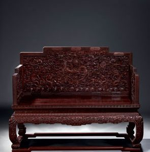 Throne of Emperor Qianlong Breaks World Auction Record for Chinese Furniture