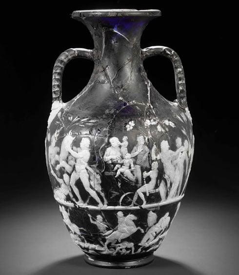 Bonhams Uncovers Rare Imperial Roman Glass Vase Auction Publicity