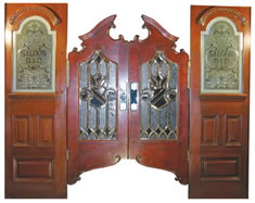Saloon-door