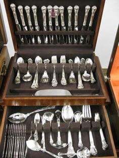Sterling flatware