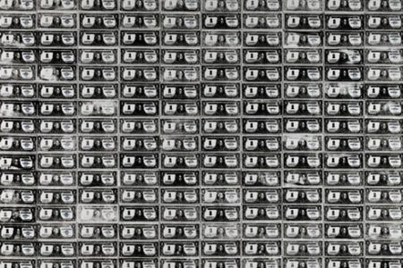 Andy Warhol's Iconic 200 One Dollar Bills from 1962 Auctions for $43,762,500 at Sotheby's