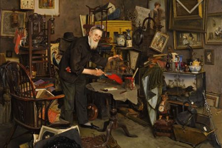 """Sotheby's to Offer Charles Spencelayh Painting """"The Old Dealer"""""""