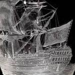 Ships on Glass for Bonhams Auction of British Glass