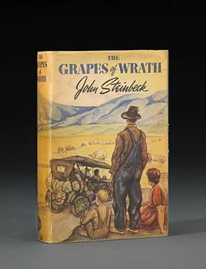 optimism in john steinbecks the grapes of wrath essay The pulitzer prize-winning the grapes of wrath, written in 1939, is steinbecks sixth  the grapes of wrath is a  to john steinbeck's the grapes.
