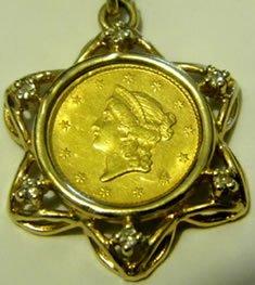 Gold coin chain