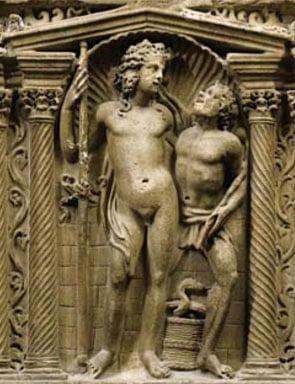 Sarcophagus Relief