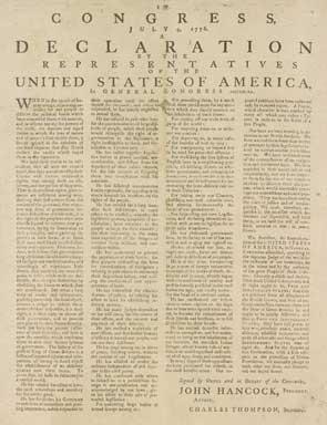 Declarationsof Independence