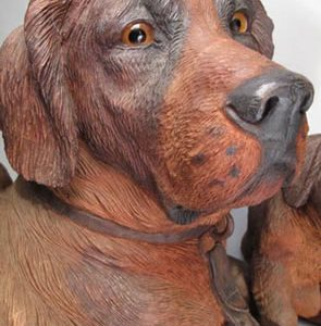 Black Forest Canine Tableau Makes $30,590 at Auctions Neapolitan