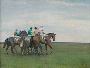 Sir Alfred Munnings Painting for Bonhams 20th Century British Art Auction