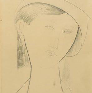 Modigliani Drawing Auctioned for $84,000 at Swann Galleries