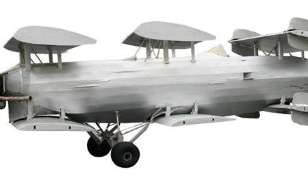 """THE OLDEST EXISTING ORIGINAL """"FLYING CAR,"""" BUILT IN 1935 BY FRANK SKROBACK, BRINGS $65,175 AT AUCTION HELD MAR. 13-14 BY RED BARON"""