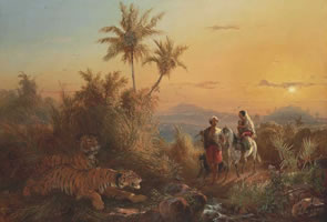 Javanese Artist Raden Saleh Painting to be Offered at Christie's Auction in Hong Kong