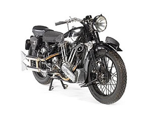 Norton-JAP and Brough Superior Motorbikes for Bonhams Stafford Auction