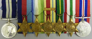 DISTINGUISHED GROUP OF MEDALS FOR RICHARD WINTERTON AUCTION