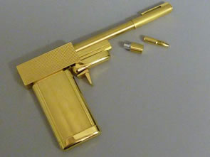The Man with the Golden Gun at Richard Winterton Auctioneers