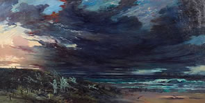Conan Doyle Psychic Painting for Bonhams Auction