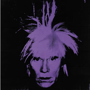Andy warhol self portrait auctions for a record 32 6 million