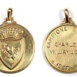 John Charles Football Medal for Bonhams Sporting Memorabilia Auction