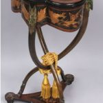 Emile Galle Sewing Stand Realizes $21,850 at Kaminski Auction