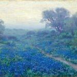 Julian Onderdonk Bluebonnet Painting for Heritage Western & Texas Art Auction