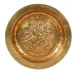 Joan of Arc Commemorative Alms Dish Dated 1429 for Auction at Bonhams